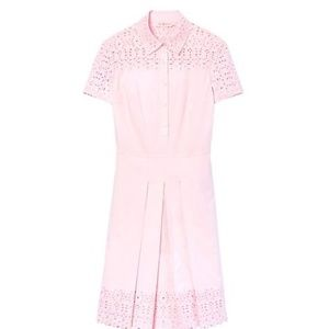 Tory Burch 'Emmy' Embroidered Eyelet Dress sz 8